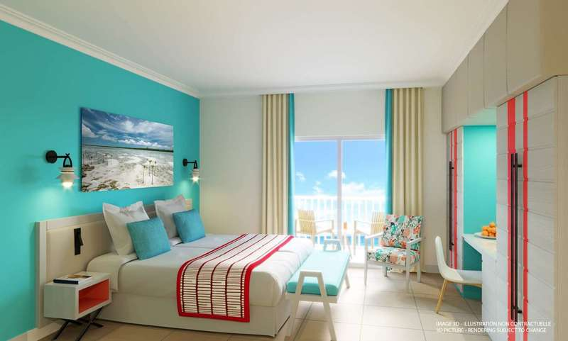 Large club med turquoise deluxe 1